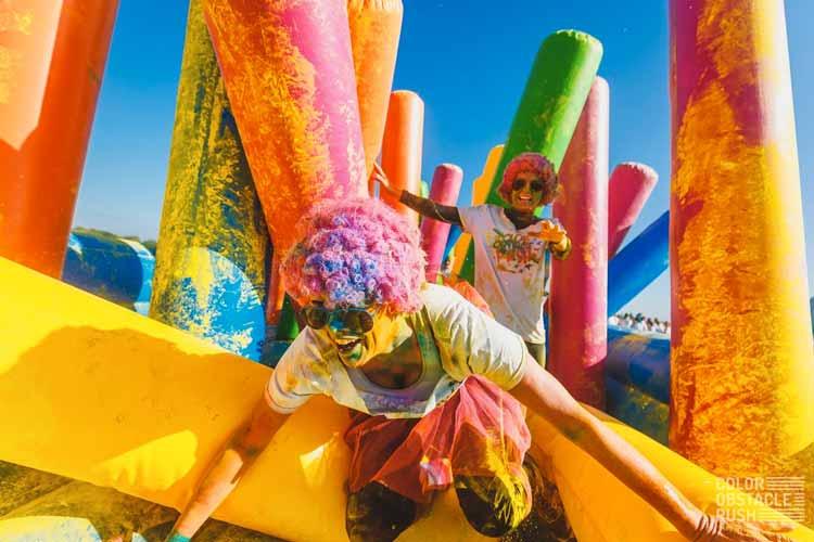 Juegos Polvos Colores Holi